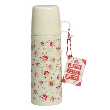 Thermosflasche mit Becher petite rose