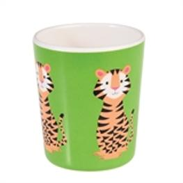 Tiger Melamin Becher