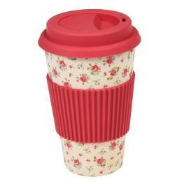 Bambusfaser Coffee to go Becher petite rose