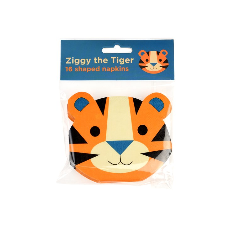 Ziggy The Tiger Servietten