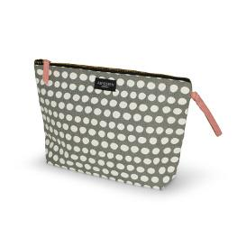 Necessaire dot grey gross