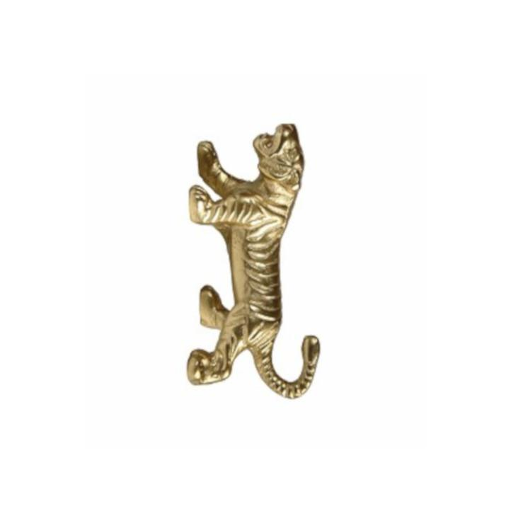 Massiver Haken Tiger Gold