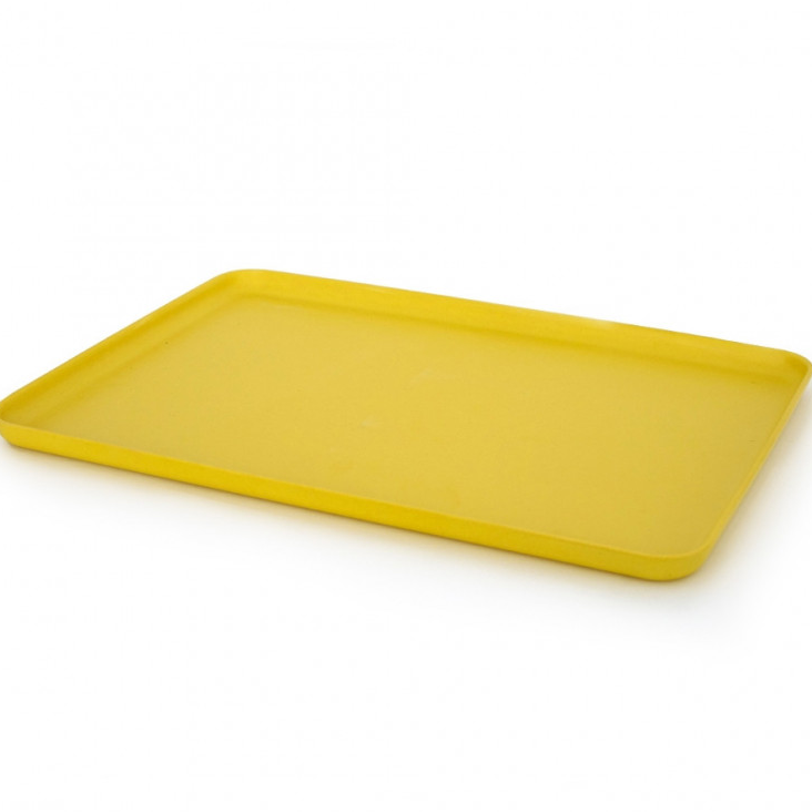 Serviertablett aus Bambusfaser Lemon Gross