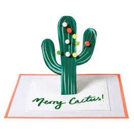 Pop Up Merry Cactus 3D