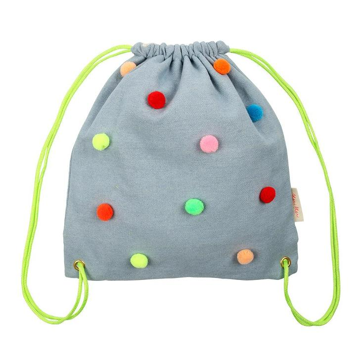 Pompom Backpack
