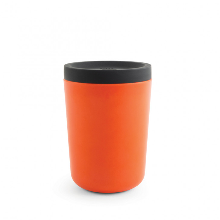 Cup To Go aus Bambusfaser Persimmon