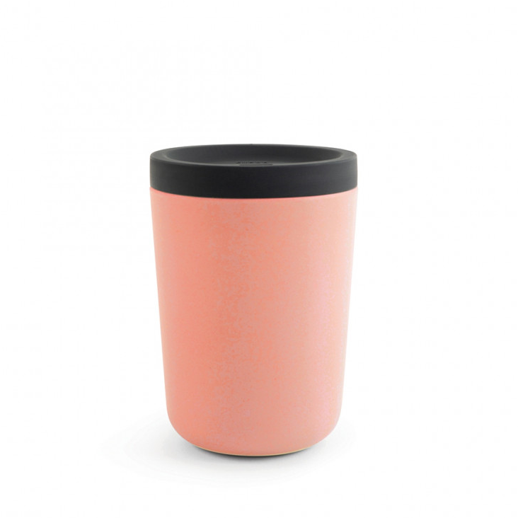 Cup To Go aus Bambusfaser Coral