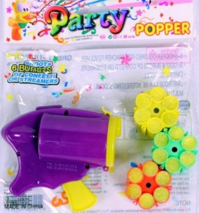 Party Popper Konfetti