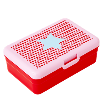 Rice Lunch Box Star pink gross