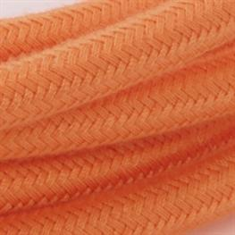 Textil-Lampenkabel 3m dusty orange