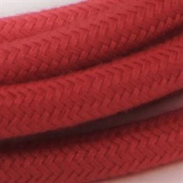 Textil-Lampenkabel 3m dusty rot