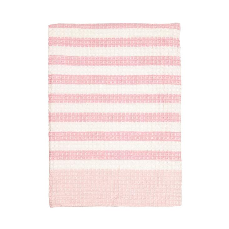 Waffle Tea Towel Alice pale pink von Greengate