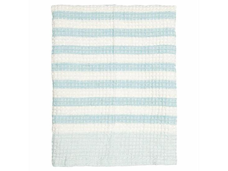 Waffle Tea Towel Alice pale blue von Greengate