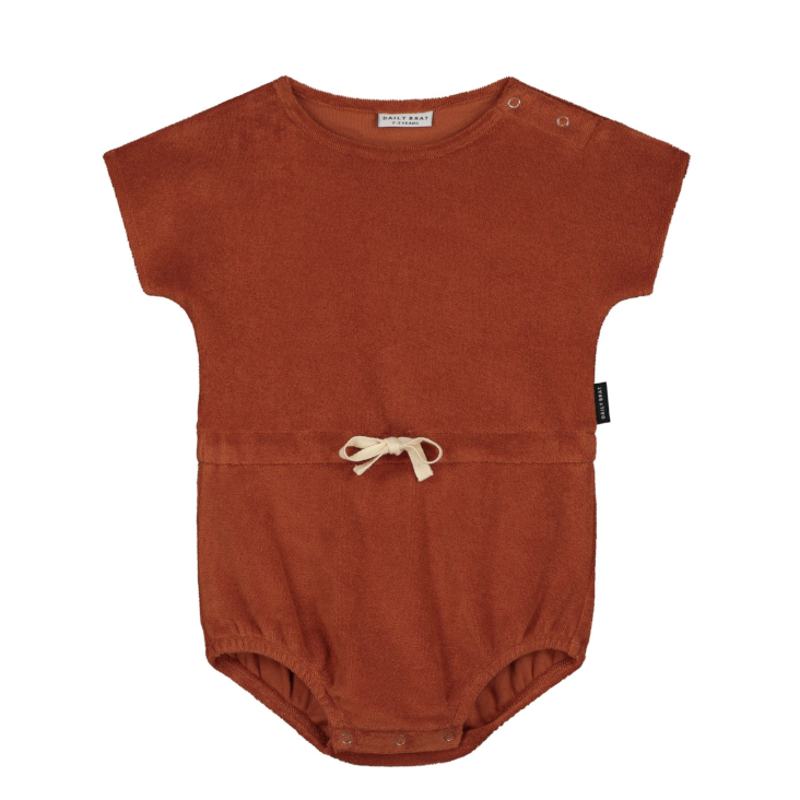 Joe Towel Suit Marsala