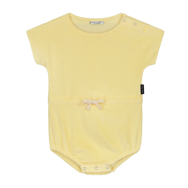 Joe Towel Suit Pastel Lemon