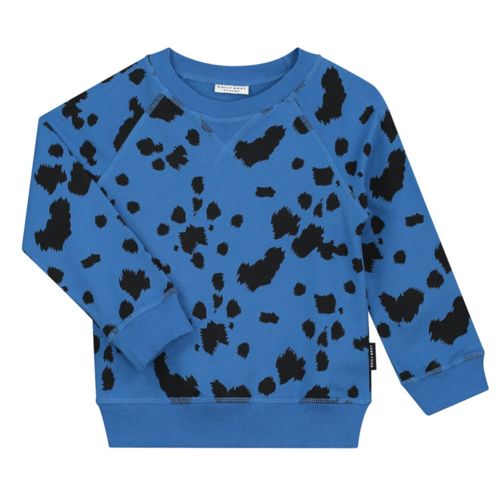 Dalmatian Sweater Royal Blue