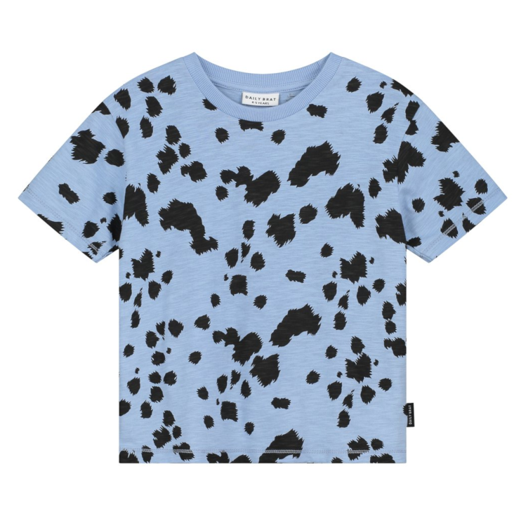 Dalmation T-Shirt Serenity Blue