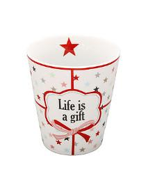 Tasse Happy Mug life is a gift