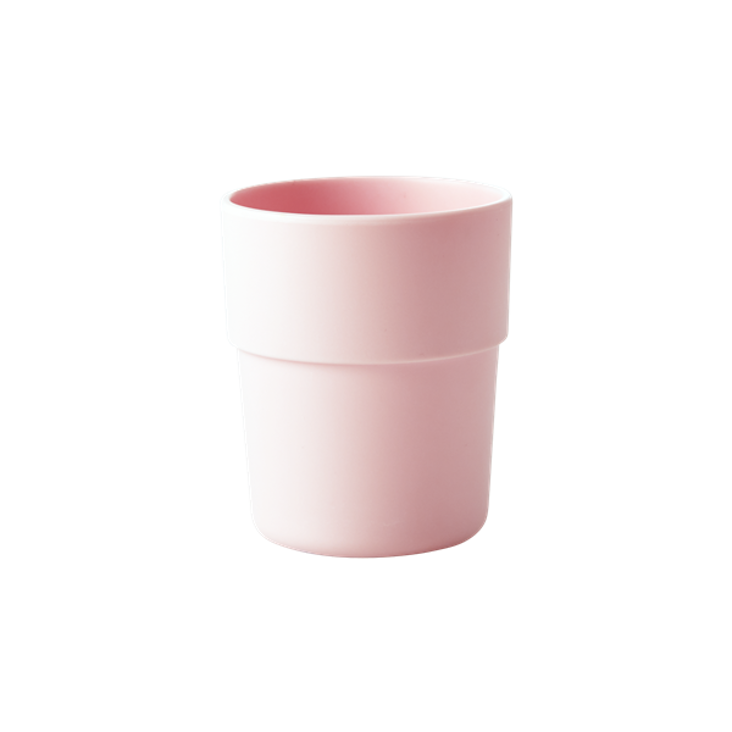 Natural Fibre Cup in Pastel Pink