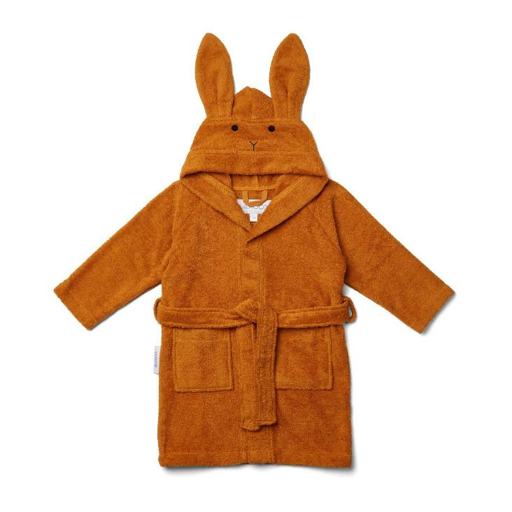 Bademantel Lily Rabbit Mustard