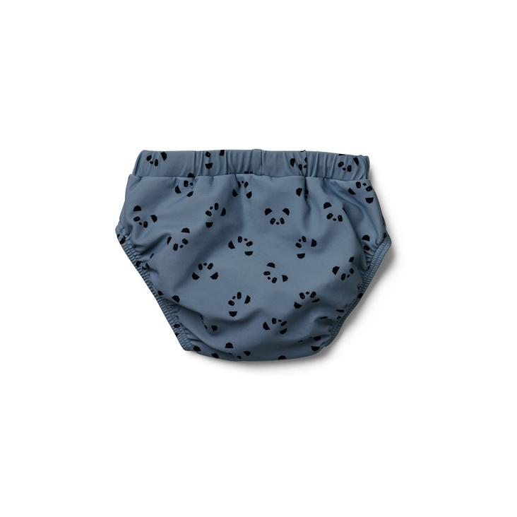 Frej baby boy swim pants - Panda blue Wave