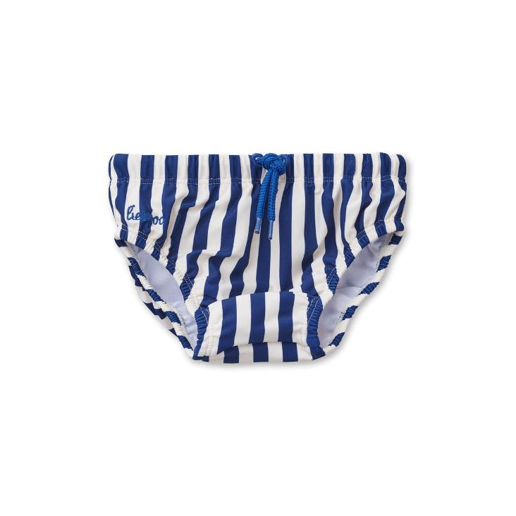 Frej baby boy swim pants - Stripe: Navy