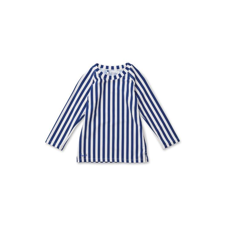 Noah swim tee - Navy Stripe