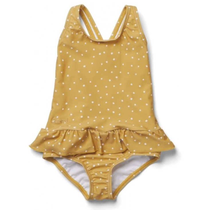 Liewood Amara Swimsuit Badekleid Yellow Mellow