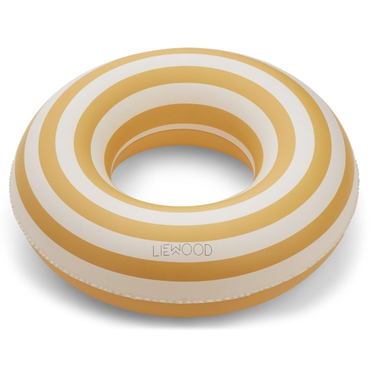 Baloo Swim Ring Stripe Yellow Mellow