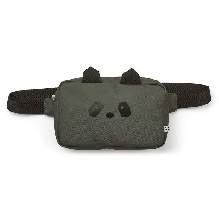 Bauchtasche Panda - Hunter green