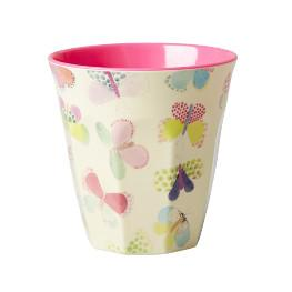 Rice Melamin Becher - Butterfly Print