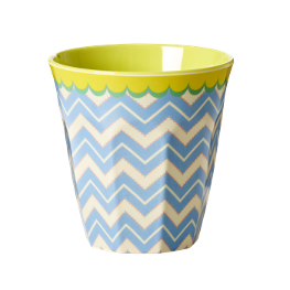 Rice Melamin Becher Chevron Print
