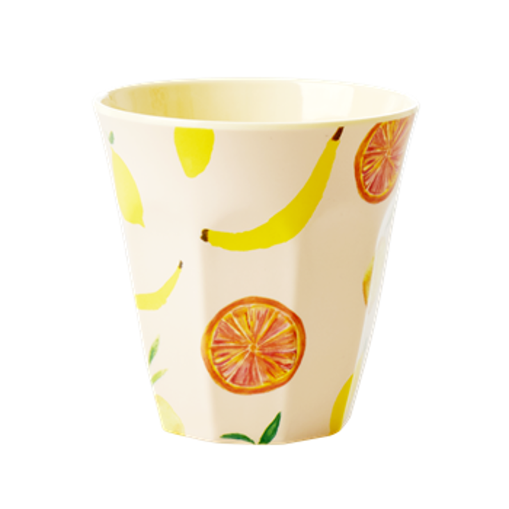 Rice Melamin Becher Happy Fruits Print