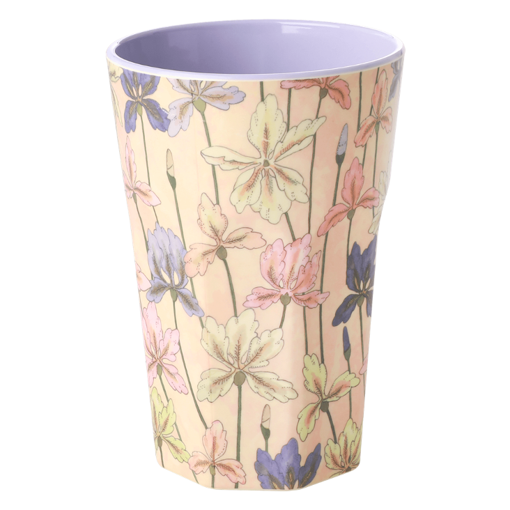 Rice Melamin Becher gross - Iris Print