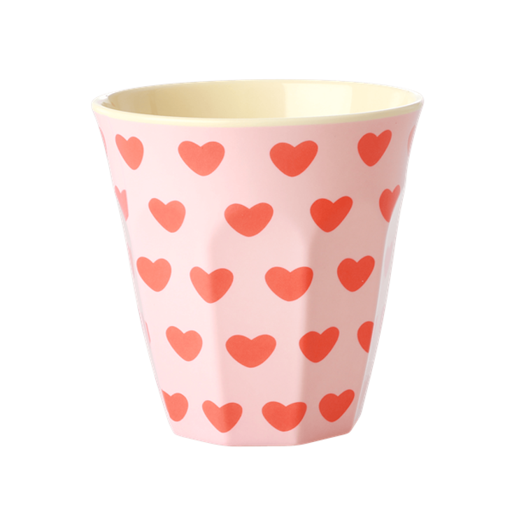 Rice Melamin Becher - Sweet Hearts Print