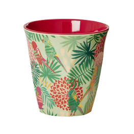 Rice Melamin Becher Tropical Print
