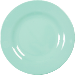 Rice Melamine Dinner Plate dark mint