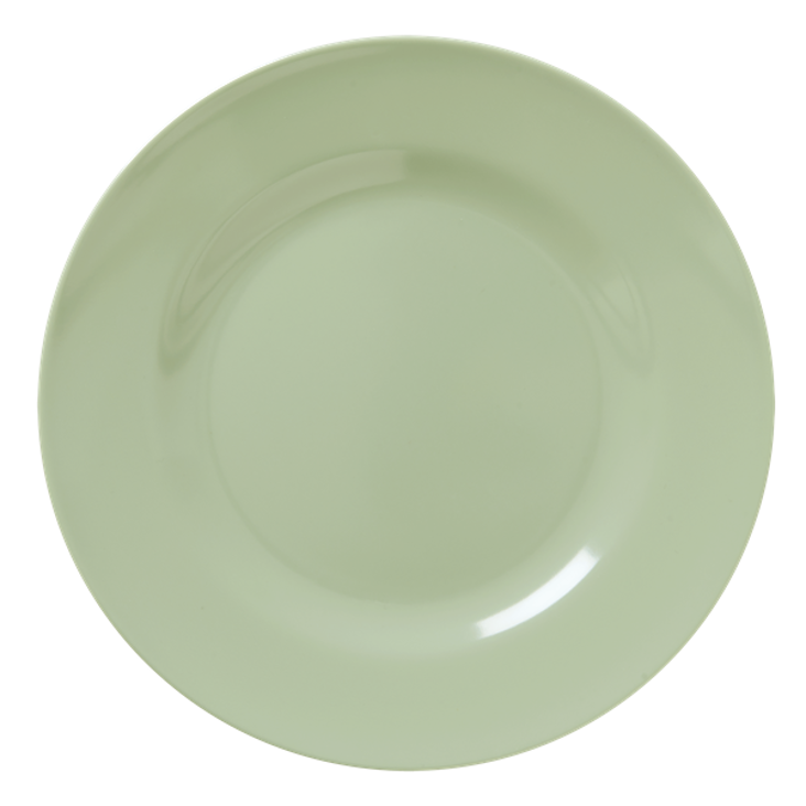 Rice Melamine Dinner Plate Khaki