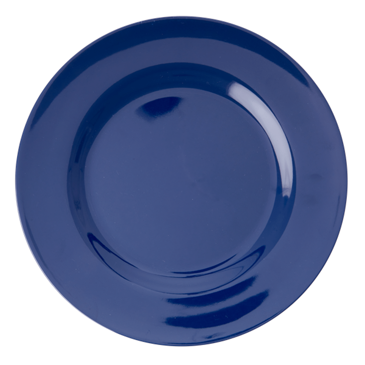 Rice Melamine Dinner Plate Blau