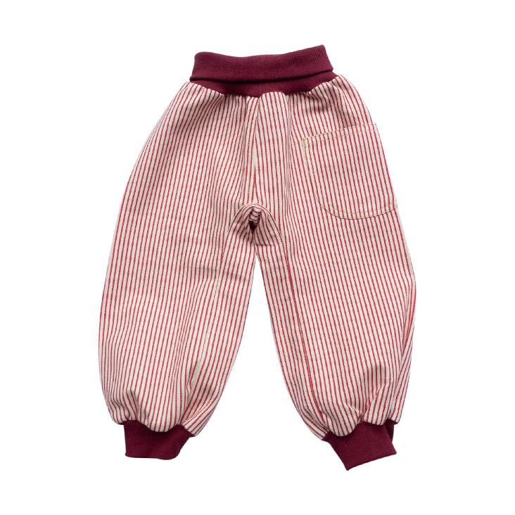 Cozy Pants Rot gestreift