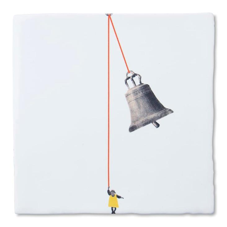 Plättli-Bild The Bell Ringer 13x13 Medium
