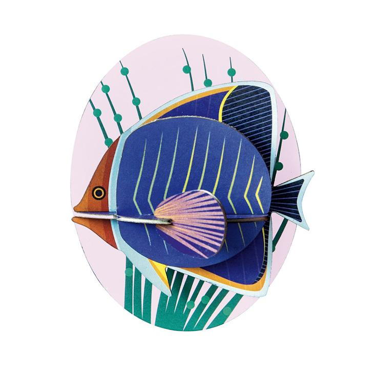 WALL DECO BUTTERFLYFISH