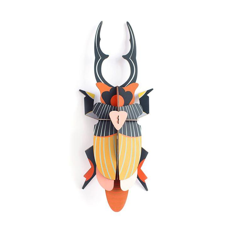 WALL DECO GIANT STAG BEETLE