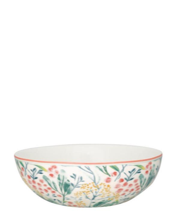 Greengate Cereal Bowl Megan White