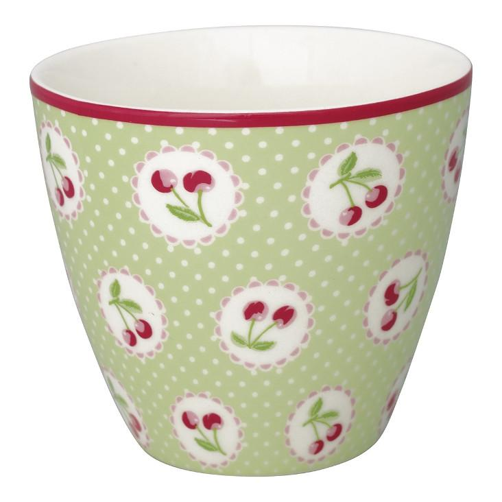Greengate Tasse Cherry berry green