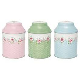 Teebox Meryl von Greengate 3er Set
